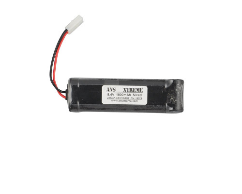 ANS Xtreme NiCAD Airsoft Battery - 8.4V, 1800mAh - Large Style