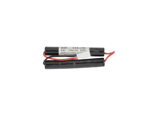 ANS Xtreme NiMH Battery - 9.6V, 1100mAh - Butterfly Style