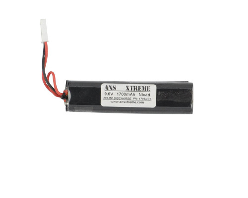 ANS Xtreme NiCAD Battery - 9.6V, 1700mAh - Nunchuck Style