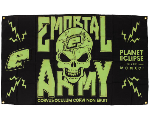Planet Eclipse Paintball Banner - Emortal Army