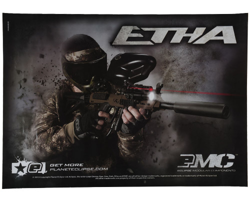 Planet Eclipse Paintball Poster - Etha EMC