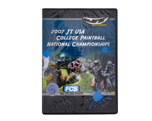 2007 College Paintball National Championship DVD - JT USA