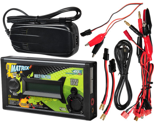BOL Matrix Balance Battery Charger w/ Power Supply - NiMH/NiCd/Lipo/Li-Ion/PbLead