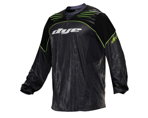 Dye 2013 UL Ultralite Paintball Jersey - Lime