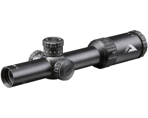 Aim Sports Alpha 6 1-6x24 30mm Rifle Scope with CQ1 MOA Reticle