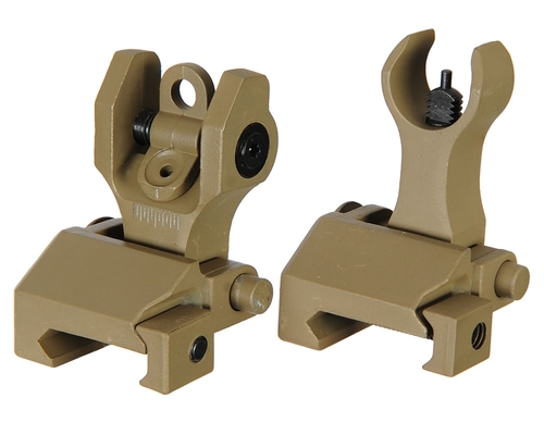Echo1 Back Up Iron Sights - Tan