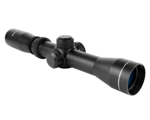 Scout Series 2-7X32mm Rifle Scope with Duplex Reticle - Aim Sports