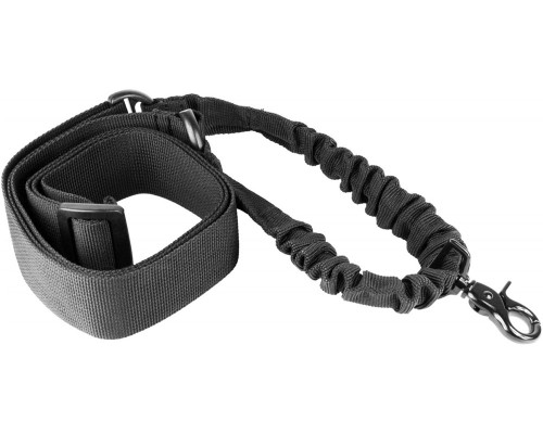 Aim Sports Quick Detach Single Point Bungee Rifle Sling - Black (AOPS)