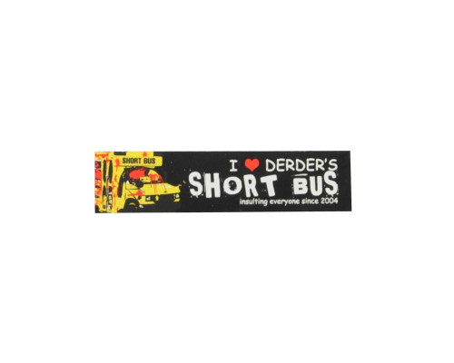 Paintball Sticker - Der Der Short Bus