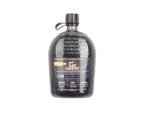 GF Precison Black- .20g Black BB's - 5000 ct