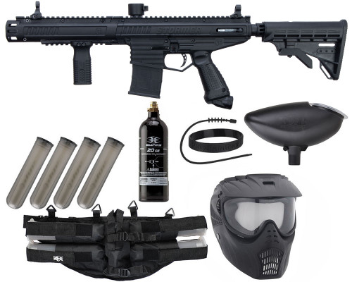 Tippmann Gun Package Kit - Stormer Elite Dual Fed - Epic