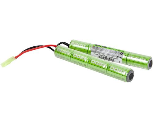 Valken Energy Airsoft Battery - 9.6V NiMH 2200mAH Split (95843)