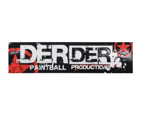 Paintball Sticker - Der Der Star