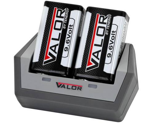 Tenergy Rechargeable Battery & Charger Kit - Valor 9.6V 230mAh