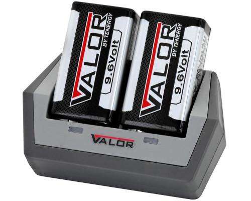 Tenergy Rechargeable Battery & Charger Kit - Valor 9.6V 230mAh