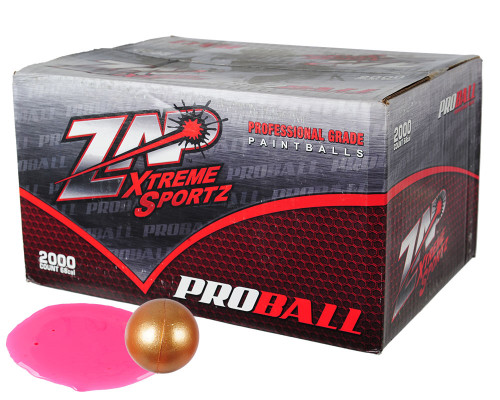 Zap Xtreme Proball Paintballs - 2,000 Rounds
