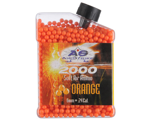 Daisy BB's - .12g Airstrike Orange - 2000 ct