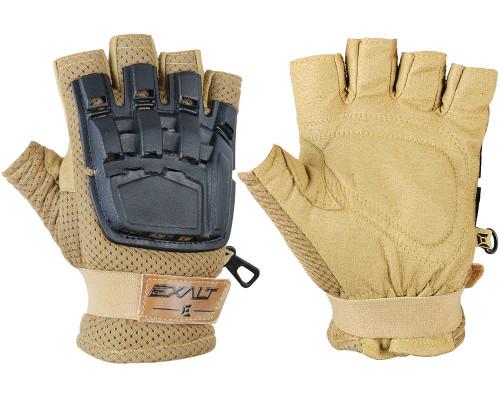 Exalt Hard Back Half Finger Gloves