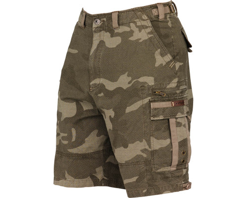 Dye Fort Bragg Paintball Shorts 2009 - Olive Camo