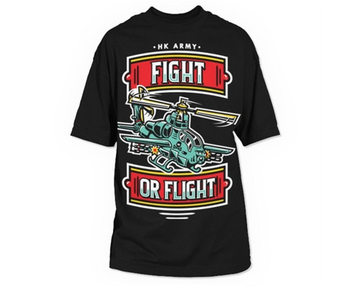 HK Army T-Shirt - Helicopter