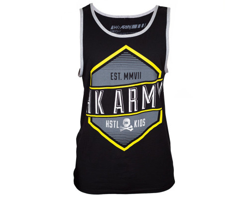 HK Army Tank Top - Carved