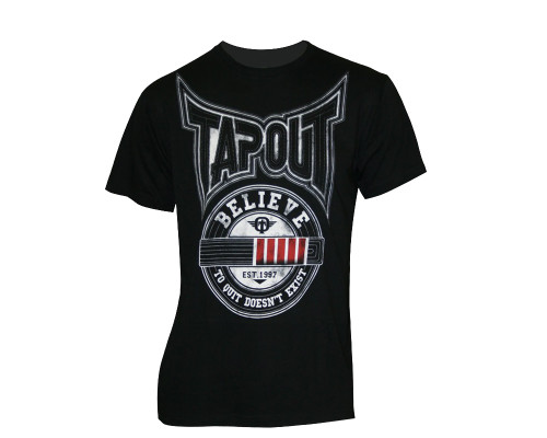 Tapout T-Shirt - Black Belt