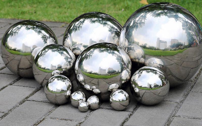 Stainless Steel Spheres - Gazing Balls