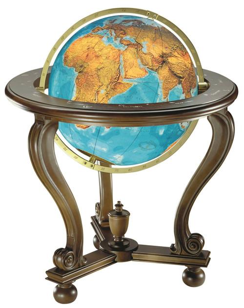 """The Columbus Berlin 20"""" Illuminated Floor Globe"""