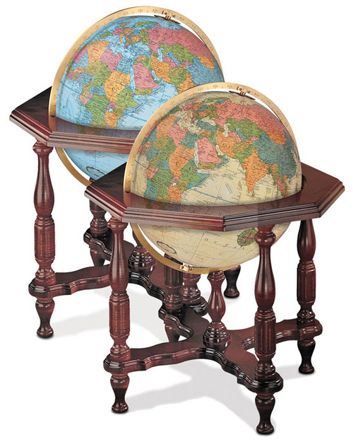 Statesman Floor Globe in Two Color Choices