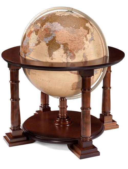 Mercatore 24 Inch  Floor Globe - Antique Ocean