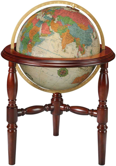 "The Trenton 20"" Illuminated Floor Globe"
