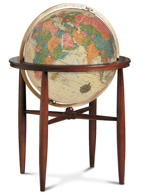 Finley Antique Ocean Floor Globe