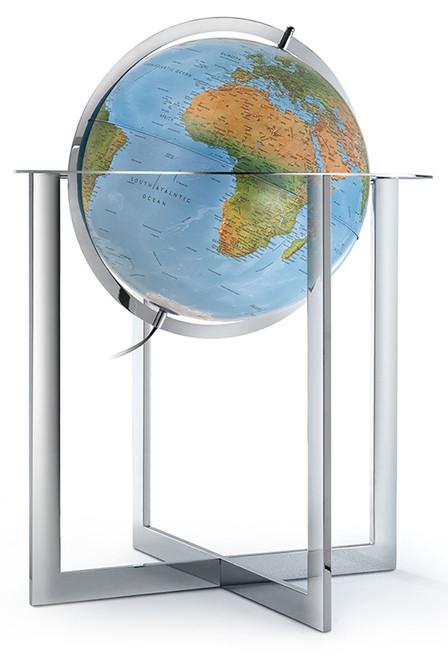 "The Maranello 20"" Blue Ocean Floor Globe"