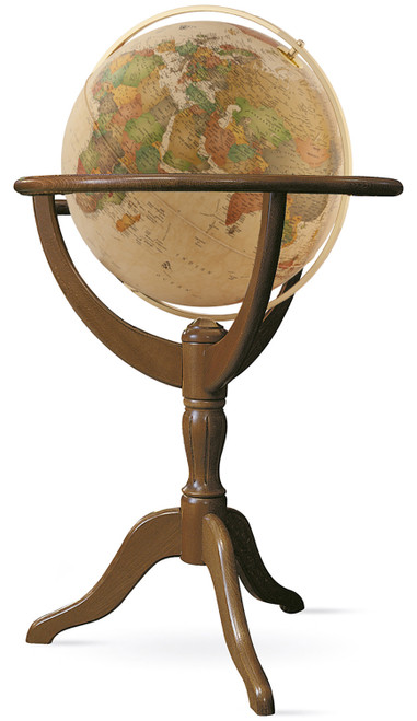 "The Geneva 20"" Antique Ocean Floor Globe"