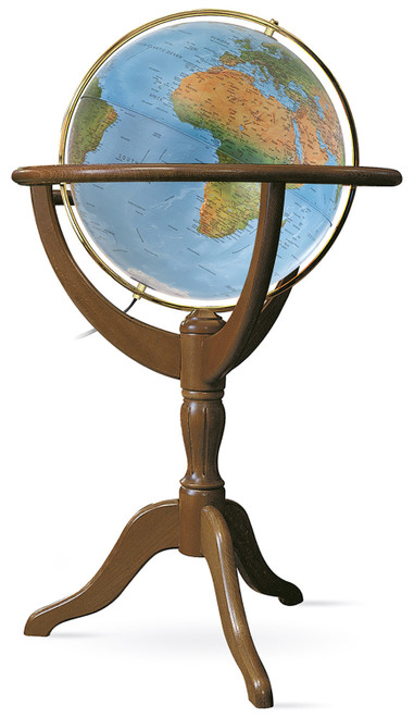 "The Geneva 20"" Blue Ocean Floor Globe"