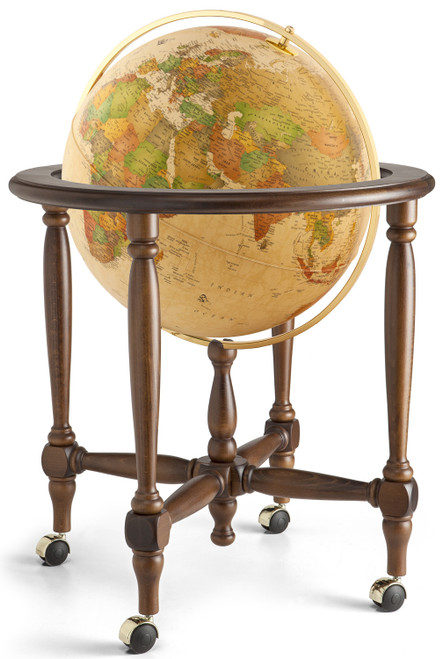 "The Monaco 20"" Antique Ocean Floor Globe"