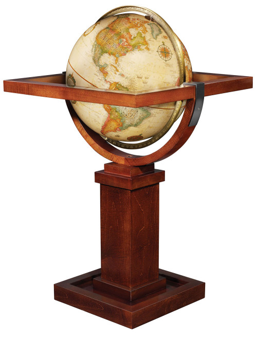 "Wright 16"" Floor Globe"