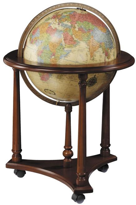 LaFayette Floor Globe - Antique Ocean