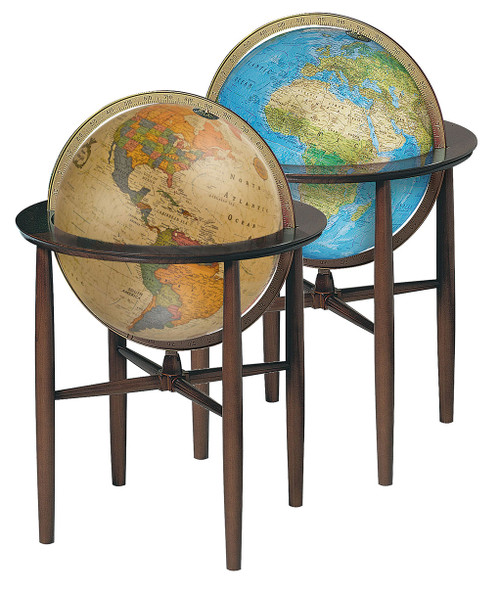 Austin Floor Globe in two color choices
