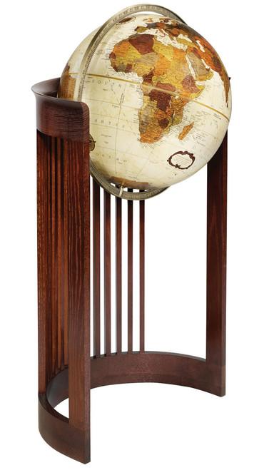 "Barrel 16"" Floor Globe"