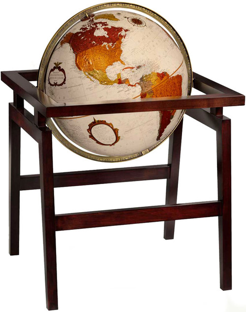 "The Madison 16"" Antique Ocean Floor Globe"