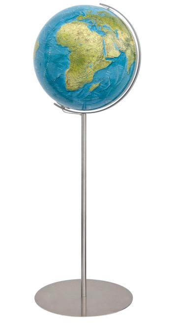 """The Bonn 16"""" Illuminated Physical/Political Floor Globe"""
