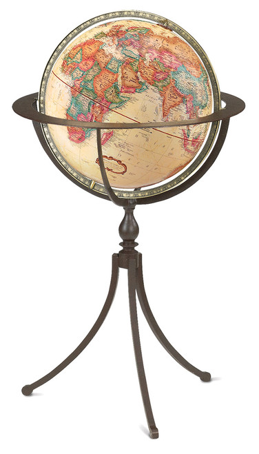 The Marin Floor Globe