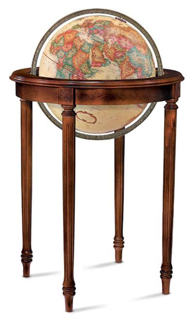 "Regency 16"" Floor globe"
