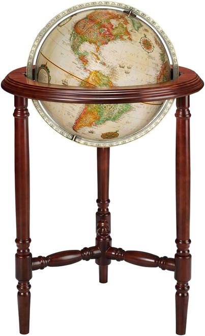 """The Stevens 16"""" Floor Globe"""