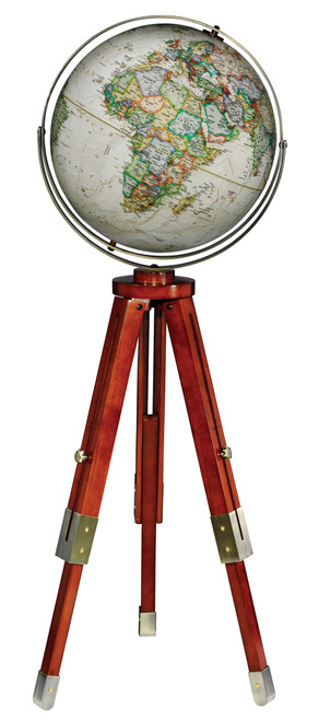 "The Eaton 16"" Floor Globe from National Geographic"