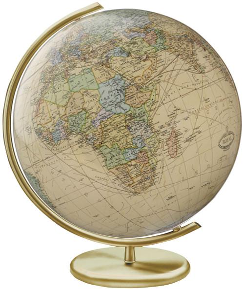 "The Weimar 16"" Crystal Desk Globe"