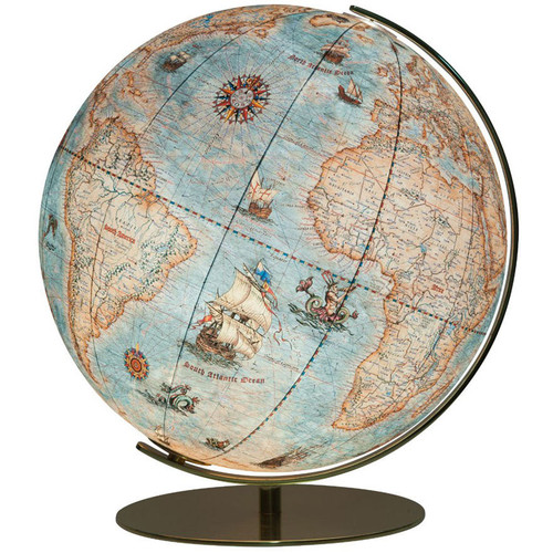 "The Dresden 16"" Old World Style Political Desk Globe"