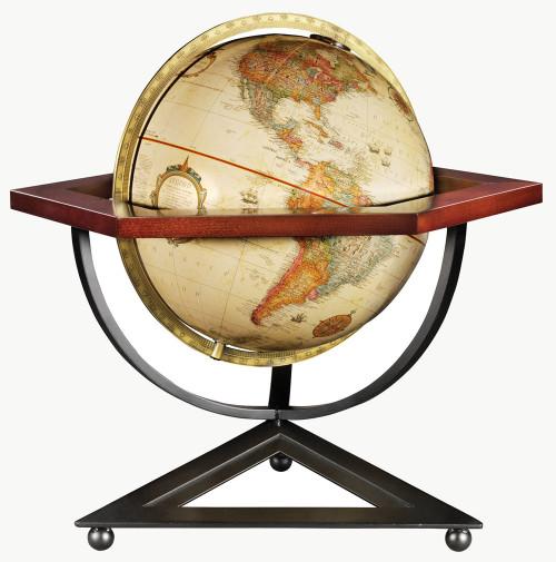 Hexagon Tabletop Globe