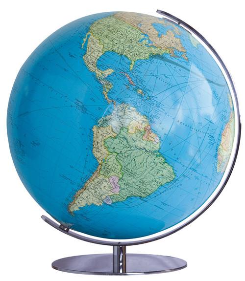 "The Heidelberg 13"" Illuminated Political/Physical Desk Globe"